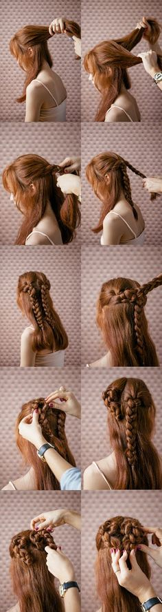 with a heart braid!