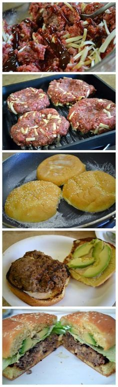 Best Burger with Secret Sauce Ingredients: Burger 2 lbs ground beef 85/15 sesame seed buns ½ cup of grated Monterrey jack cheese ¼ cup BBQ sauce season salt to taste cracked black pepper onion powd...
