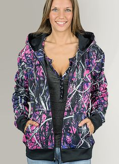 Muddy Girl Zipper Hoodie (SM): This Muddy Girl Moon Shine Camo hoodie sweater will look great for any occasion, also support lady hunters out there, perfect all around ladies camo apparel. Also Hooded sweater keeps warm Baby Girl Camo, Muddy Girl Camo, Baby Boys, Camo Outfits, Fashion Outfits, Fashion Women, Pink Camo Hoodie, Hunting Clothes, Camo Clothes