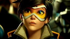 Download Tracer HD Wallpaper Overwatch Game 1920x1080
