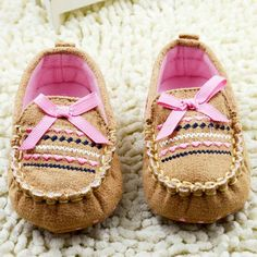 >> Click to Buy << Newborn Toddler Baby Kid Girl Boy Soft Sole Bow No-slip Prewalker Shoes Sneaker #Affiliate
