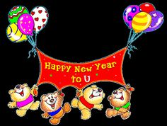 Happy new year to u funny gif