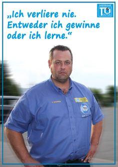 Nach einer Niederlage kannst Du es beim nächsten Mal anders machen, denn Du hast gelernt wie es nicht funktioniert! Euer Ingo von der www.tue-taunus.de #AutoErlebniswelt #TüTaunus #Lernen