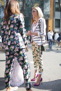 They Are Wearing: Milan Fashion Week   WWD
