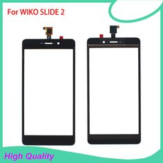 >> Click to Buy << Touch Screen Digitizer Assembly For WIKO Slide 2  Black Color 100% Guarantee Mobile Phone Touch Panel With Free Tools #Affiliate