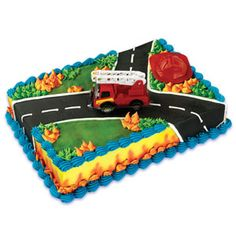 FIRE RESCUE CAKE KIT