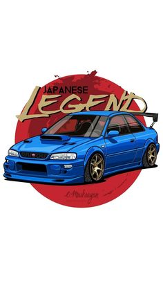 Sport Poster Japan Ideas For 2019 Impreza Subaru, Subaru Wrc, Wrx Sti, Tuner Cars, Jdm Cars, Jdm Wallpaper, Car Vector, Car Illustration, Japan Cars