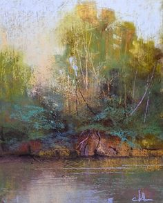 Green River by Tom Christopher Pastel ~ 20 x 16
