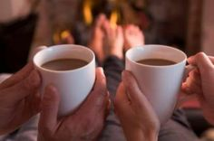 Romantic night in. Just you, your honey, cups of coffee warming your hands and a crackling fire.  #ExperienceMelitta