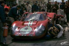 24 heures du Mans 1967 - Ford MkIV #1 - Pilotes : Dan Gurney / Anthony Joseph Foyt - 1er