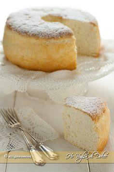 Angel cake leggera come una nuvola