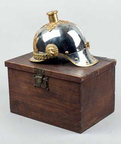 Casco Mod. 1909 Oficial. Con su caja original