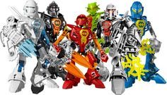 We love to build and play with lego hero factory action figures.