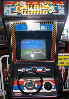 Pole Position - one of my favorite arcade games in the 1980s.