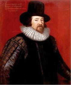 Francis Bacon is geboren op 22 januari 1561 in Strand, Londen, Engeland. Hij is gestorven op 9 april 1626 in Hughgate, Middlesex, Engeland. Volgens Bacon is wetenschap een gevoel. Hij noemde dit menselijke dwaling. Er zijn vier punten die het bewustzijn vertroebelen: hartstocht, aanleg en opvoeding, spraakverwarring en ideeën van de andere filosofen.