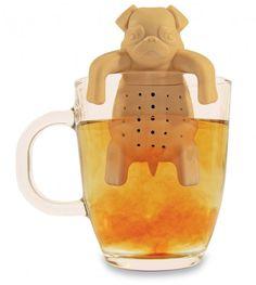 Boule à thé chien carlin http://www.homelisty.com/boule-a-the-55-infuseurs-a-the-super-originaux/