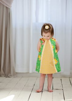 The Cottage Home: Ruby Ruffle Dress Pattern