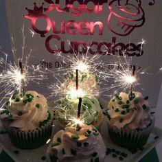 Sparkler cupcakes! #cupcakes