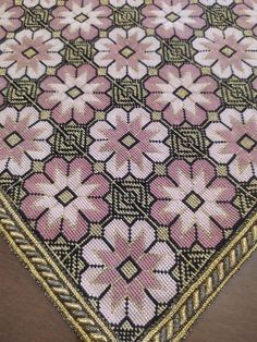 Cross Stitching, Cross Stitch Embroidery, Fabric Rug, Bohemian Rug, Fabrics, Rugs, Knitting, Crochet, Driveways