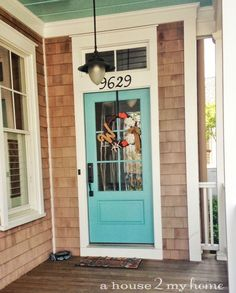 Coastal Life Archives - A House 2 My Home & Coastal Front Door Color Ideas ! | Coastal decorating | Pinterest ... Pezcame.Com