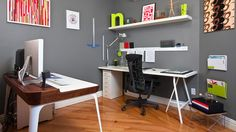 Have two desks in your office.  One for creative tasks, one for administrative tasks.  This will boost your productivity because specific places instantly trigger different responses in us.  Interesting read