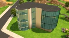 Ultra Glass Fence Set by maloverci at Mod The Sims via Sims 4 Updates