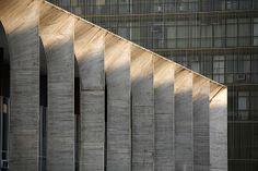 The Palacio Itamaraty, Brasilia by Brasilian architect Oscar Niemeyer.