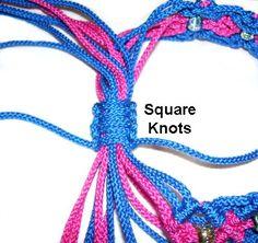Sliding Clasps - Tutorials for different clasp styles for friendship bracelets, etc.
