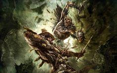 Warhammer k Wallpaper x Warhammer Online, Warhammer Art, Warhammer Fantasy, Conquistador, Full Hd Pictures, Free Pictures, Fantasy Pictures, Hero Wallpaper, Wallpaper Backgrounds