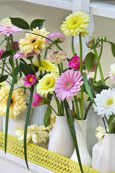 This is just LOVELY #lovely #gerbera #colouredbygerbera #sweet #pretty