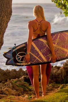 Surf girl... surf check...