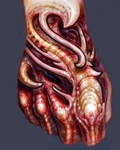 Биомеханика и органика | 154 фотографии