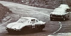 "Interlagos 1963 the 1600 Kms race with the Willys Interlagos Berlineta a.k.a. Alpine A108 of Geraldo ""Mancal"" Meirelles Freire and Antonio Carlos Scavone followed by the works Simca Chambord of Jaime Silva and Fernando ""Toco Martins"" and Ciro Cayres and Ubaldo Lolli."