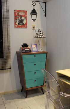 Interior Design, Vintage, Retro