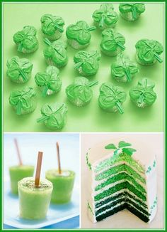St. Patty's Day cupcakes !
