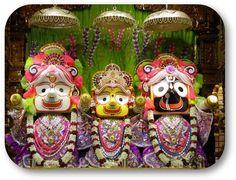 Today's Darshan Sri Sri Jagannath Baladev Subhadra @ISKCONNVCC, Pune
