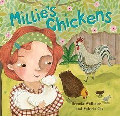 Millie's Chickens is a perfect pairing of fiction and non-fiction. This rhyming picture book shares facts about chickens in fun and descriptive text.