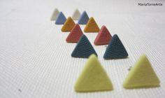 earrings little flags by mariatornearte on Etsy, $10.00
