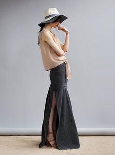 a fresk take on the maxi skirt
