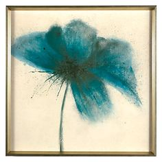 #zgallerie Toss some spring color around! Hanging this aquamarine picture on a lonesome wall can bring life to your room.
