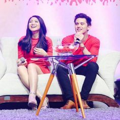 Their laughs  #jaDine #JamesReid #NadineLustre