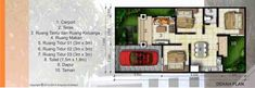 Denah Desain Rumah Jasa Arsitek