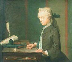 L'enfant au toton / The Child with the Teetotum de Jean-Siméon CHARDIN. Département des Peintures / Department of Paintings. © Musée du Louvre / A. Dequier - M. Bard http://cartelfr.louvre.fr/cartelfr/visite?srv=car_not_frame&idNotice=10854