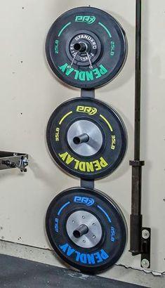 Weight Plate Storage