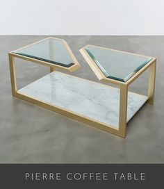 PIERRE COFFEE TABLE | SHINE BY S.H.O | 2016 COLLECTION