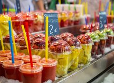 St. Josep La Boqueria Barcelona, Spain food dessert sweetness produce meal Drink flavor