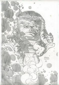MODOK - David Finch, in Kasra Ghanbari's --> MODOK - commissions Comic Art Gallery Room - 211659