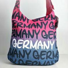 Robin Ruth Original colorful dye Germany sling bag. See us on Instagram user #robinruthny