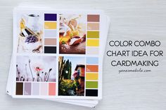 Yana Smakula | Color Combo Chart Idea Book for Clean & Simple Stamping and Cardmaking in general