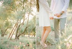 Nichole and Jason, Whimsical Engagement Session at San Ysidro Ranch - KT Merry Photography